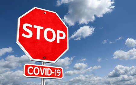 Stop Covid-19 免版税图像 - 157860441