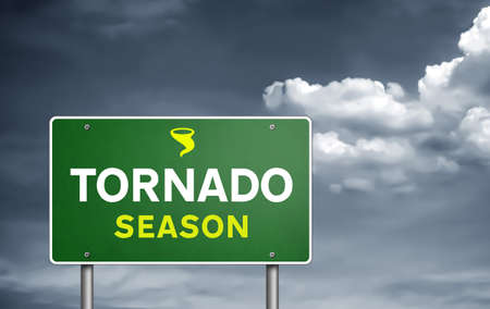 Tornado season 免版税图像