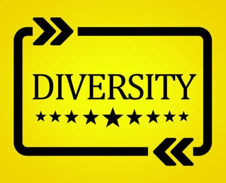 Diversity illustration concept 免版税图像 - 157860449