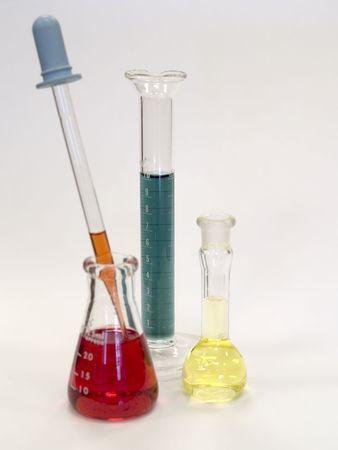 hemistry ガラス 写真素材