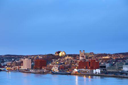 St. John's cityscape  Standard-Bild