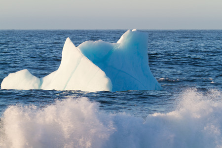 Where Icebergs go to die... Iceberg Alley, Newfoundland and Labrador. 版權商用圖片