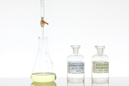 titration: Chemistry acid and base titration