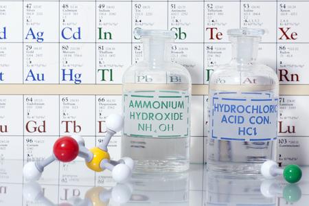 Säure und Grundchemie. Standard-Bild - 71376237