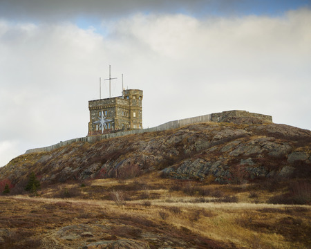 Signal hill historic site in the city of  St. Johns, Newfoundland and Labrador, Canada