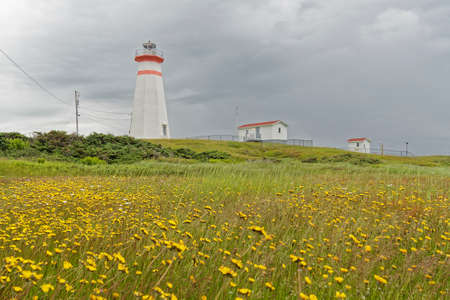 The light tower at Cape Ray, Newfoundland and Labrador.