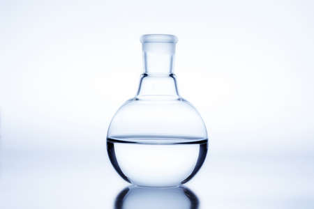 Flat Bottom Flask used for chemical distillation.