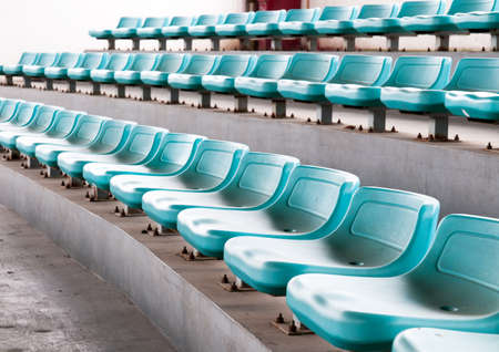 Stadium seats photo
