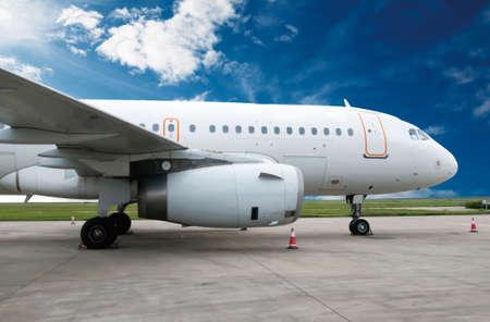 Airplane Reklamní fotografie - 41363004