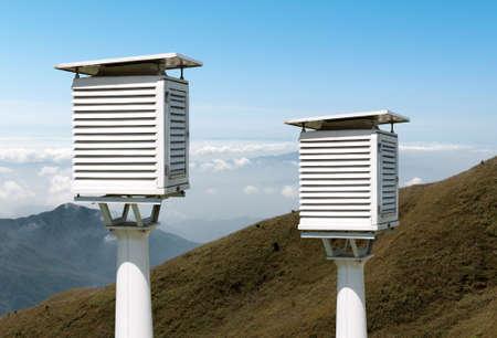 The weather station Reklamní fotografie