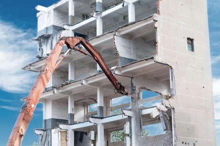dismantling of a house Reklamní fotografie