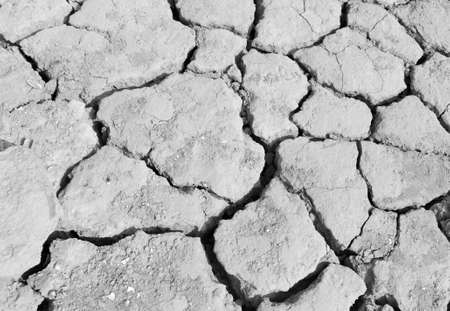 Lake bed drying up due to drought Reklamní fotografie