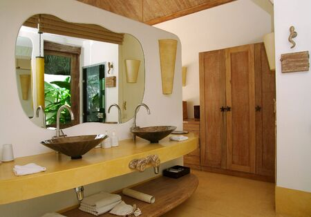 Bathroom in the spa resort