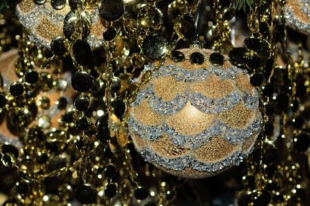 glare: Colored glare for Christmas decoration
