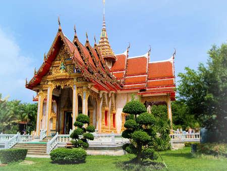buddhist temple: Buddhist Temple in Thailand - Thai Temple