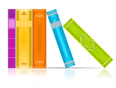 books Stock Vector - 7730092