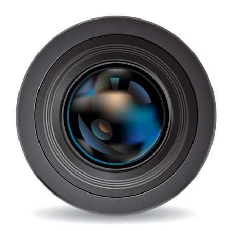 analogical: camera lens