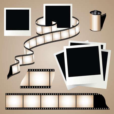 esporre: Vecchia striscia di pellicola