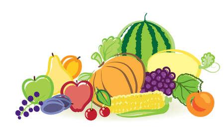 frutas y verduras Foto de archivo - 8342848