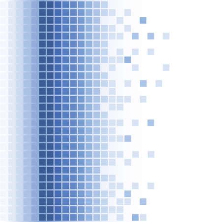 grid: astratto blu arrotondato sfondo mosaico quadrato  Vettoriali
