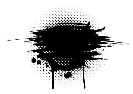 grafiti: streszczenie grunge Ilustracja