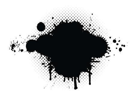blutspritzer: abstrakte Grunge Hintergrund