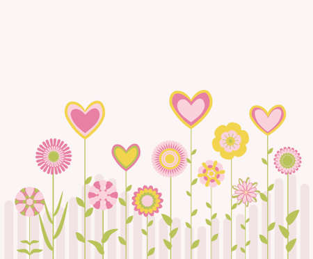 affairs: flowers and hearts
