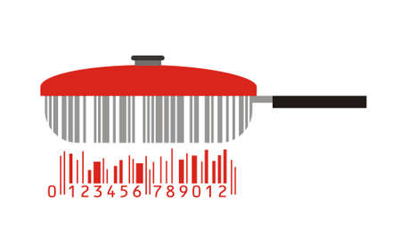 barcode scanning: pan as stylized barcode