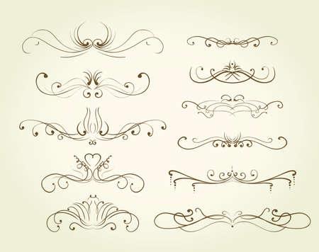 decorative design elements Stock Vector - 9686887