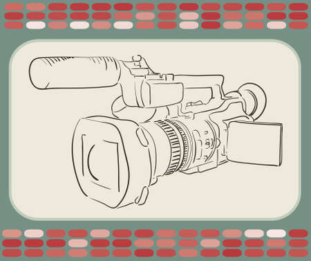 camcorder Stock Vector - 9686895