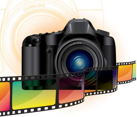 fotografi: pellicola fotocamera e colore Professional