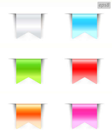 labels with color variations Stock Vector - 9654951