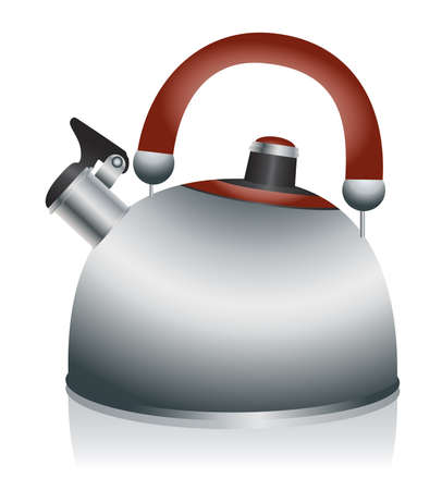 Tea kettle Illustration