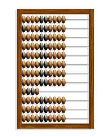 abacus Stock Vector - 12448687