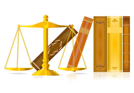 justice concept  Illustration