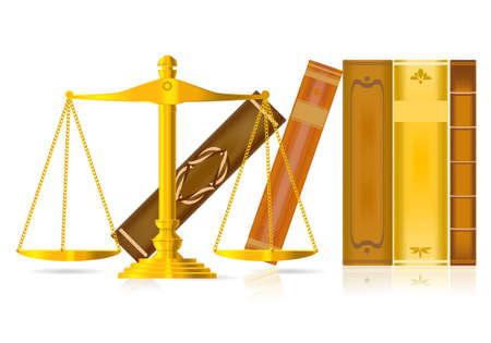 justitie-concept Vector Illustratie