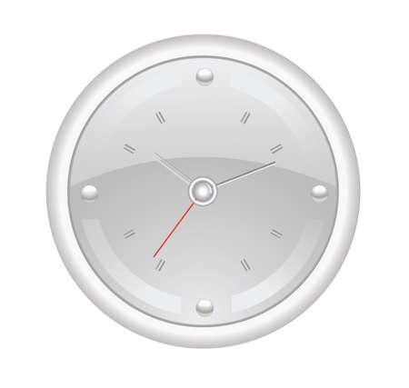 office clock Stock Vector - 12448693