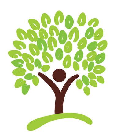 tree as symbol Vector