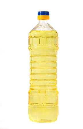kunststof fles: plantaardige olie in een plastic fles