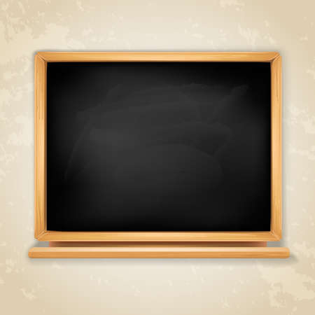realistic blackboard Stock Vector - 17452770