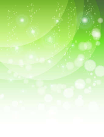 abstract green background with waves Stock Vector - 17530505