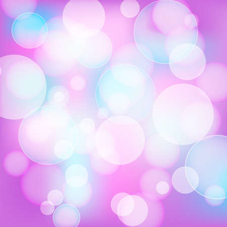 defocus: abstract pink background with light effects Illustration