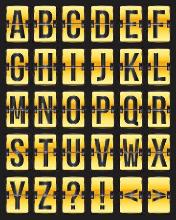 illustration golden with black scoreboard Stock Vector - 17690271