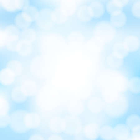 background sky: abstract blue bokeh background
