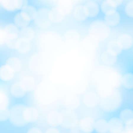 abstracto azul bokeh de fondo