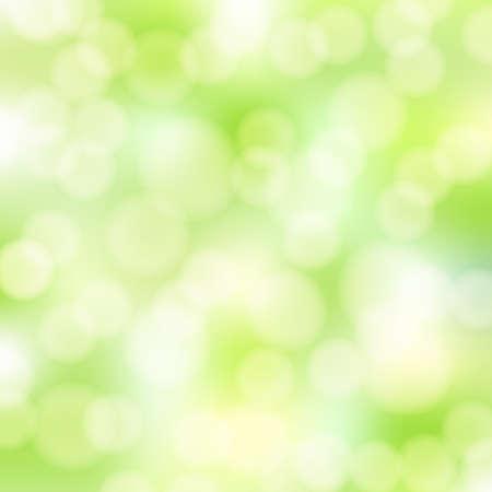 abstract green bokeh background Stock Vector - 18166095