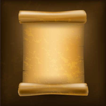 paper rolls: old scroll