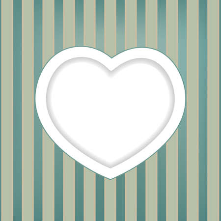retro background with heart Stock Vector - 18375141