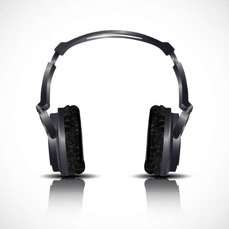 disc jockey: musical headphones