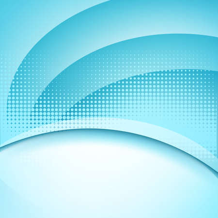 abstract blue soft background with halftone